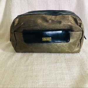 Shiseido Gold Storage Bag